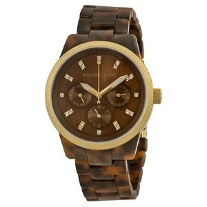 Michael Kors | Tortoise Shell Watch